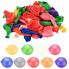 50 PACK OF 12 INCHES LATEX ASHORTED  BALLOONS PARTY WEDDING BIRTHDAY ANNIVERSARY