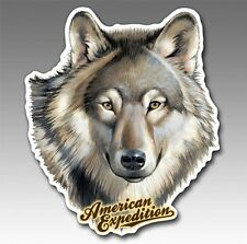 Wildlife Auto/Car/Truck MAGNET--WOLF--by American Expedition-Made in USA