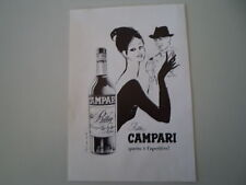 advertising Pubblicità 1964 BITTER CAMPARI