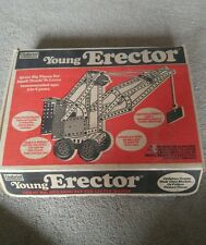 GABRIEL YOUNG ERECTOR PLASTIC BUILDING VINTAGE WHEELS TIRES NUTS BOLTS