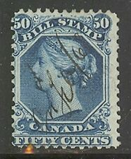 Canada #FB32b, 1865 50c Queen Victoria - 2nd Federal Bill Issue - Perf.12, Used