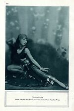"""Anna May Wong """"Chinoiserie"""" Künstler-Fotographie c.1930"""