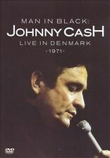 MAN IN BLACK: JOHNNY CASH LIVE IN DENMARK 1971 DVD Fast, Free Shipping