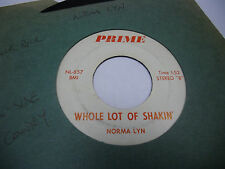 Norma Lyn Band Aid On My/Whole Lot of Shakin' 45 RPM Prime Records VG rockabilly