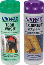 Nikwax Tech Wash Camping Hiking Tents & TX DIRECT WASH In TWIN PACK 300MLS