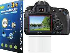 3x Anti-Glare Matte LCD Screen Protector Guard Cover Film Canon Rebel EOS 60D