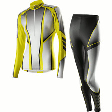 Löffler Women's Cross-Country Skiing Suit  Black-Lemon UK8/ EU 36