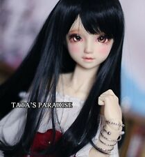 1 4 7-8 Dal BJD SD MSD Wig MDD DOD LUTS DOC Dollfie Doll Toy Black Barbie wigs