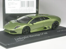 TOP: Minichamps Lamborghini Murcielago LP 640 grün metallic in 1:43 in OVP