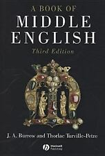 A Book of Middle English, Turville-Petre, Thorlac, Burrow, J. A., Good Book