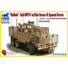 Bronco Models: camion Buffalo MPCV con Slat Armor e Spaced Armor Version