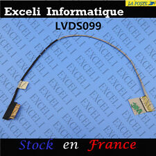 LCD LED PANTALLA VÍDEO CABLE PLANO FLEXIBLE DISPLAY TOSHIBA SATELLITE C55DT-C