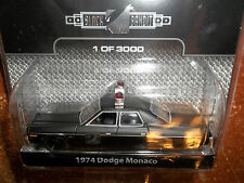 GREENLIGHT 1/64 BLACK BANDIT SERIES 8 1974 DODGE MONACO POLICE