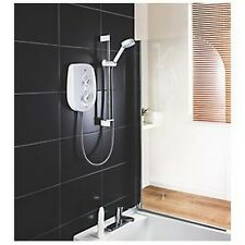 Mira Vie Manual Electric Shower White/Chrome 9.5kW