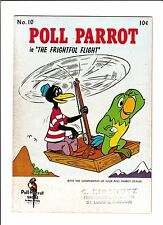 POLL PARROT #10  [1960's? VG+]  HELICOPTER COVER!   GIVEAWAY!