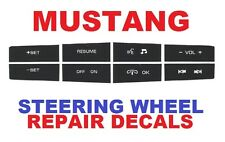 2010 2011 2012 Ford Mustang Radio Phone Audio Steering Wheel Switch Buttons OEM