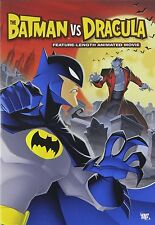 BATMAN VS DRACULA (DC Animated movie)  -  DVD - UK Compatible - New & sealed