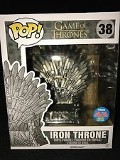 Funko Pop NYCC 2016 Comic Con Exclusive Game Of Thrones 6 Inch Iron Throne