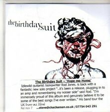(CH285) The Birthday Suit,  Hope Me Home - DJ CD