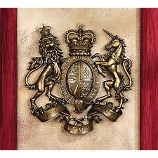 England Scotland Ireland Lion Unicorn Crown United Kingdom Coat of Arms Wall Art