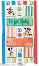 Disney Mickey Mouse Icon Adhesive Tile Sticker Decal Best Pals Minnie Donald etc