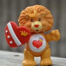 Vintage BRAVE HEART LION Care Bear Cousin Poseable Figure Toy COMPLETE ACCESSORY