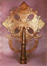 Alte Kunstpostkarte - Religiöse Kunst Äthiopiens - Vortragskreuz