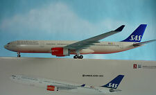 Hogan wings 1:200 a330-300 sas Oy-revanche li0175gr + HERPA wings catalogue
