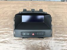 VAUXHALL ASTRA J SRI CD 400 SCREEN DISPLAY UNIT 13267984 2010-2014
