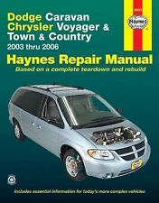 2003-2006 Haynes Dodge Caravan, Chrysler Voyager & Town & Country Repair Manual