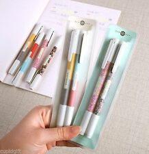 Duo Pen 0.38mm 4EA 8 Colors Decor Scrapbook Word Color Pattern Gel Study Memo