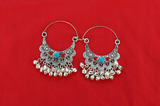 19c Ethnic Tribal Antique Afghan Old  Kuchi Banjara Traditional Jewelry earring