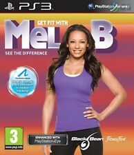 Get Fit With Mel B PS3 * NEW SEALED PAL *