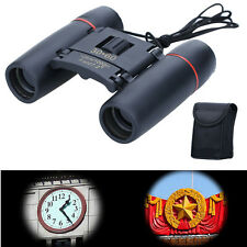 30x60 Zoom Day Night Vision Outdoor Travel Folding Binoculars Telescope + Case