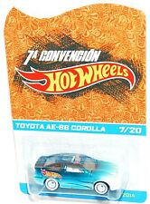 "Hot Wheels 2014 Mexico Convention Toyota AE-86 Corolla ""MOC"""