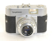 Voigtlander Vito  B Camera + 50mm f2.8 Spokar Lens (0289)
