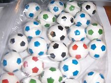 24  Super Cool  Soccer Ball Bouncy Ball Party Favors 1 inch