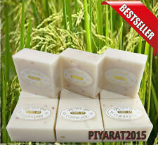 3 PACK BARS RICE MILK SOAP BROTHERS BATH BODY WHITENING COLLAGEN JASMINE.
