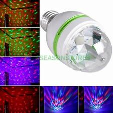 Full Color LED Lighting Rotating Lamp Stage Disco Party Bar Club Effect Lights