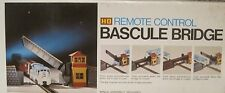 HO Vintage Bachmann  Remote Control Bascule Bridge COMPLETE With Box #3026