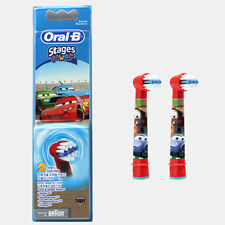 Oral-B Kids Stages Power Electric Toothbrush Replacement Heads(EB10) 2ea