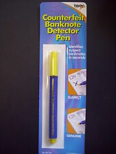 Brand New  Carded Counterfeit Banknote Detector Pen
