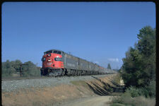351042 SP EMD FP 7A 6447 Heads Amtrak Passenger Train 1972 A4 Photo Print