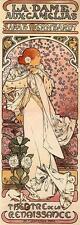 6 Alphonse Alfons Mucha Art Nouveau De Sarah Bernhardt Teatro Giclee imprime Nuevo
