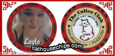 New Release Calico Club Brothel Girl LALA Chip Battle Mountain, NV. Authorized