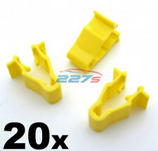 20x Honda Civic, CRV & HRV Yellow Wheel Arch Trim Clips- Snap Fit  90601-SMG-003