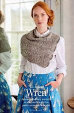 ~ Knitting Pattern For Lady's Asymmetric Capelet ~