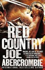 Red Country by Abercrombie, Joe