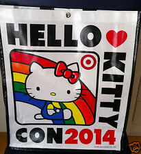 HELLO KITTY CON 2014 Huge SUPER Cute Hello Kitty BackPack/ TOTE/ BAG!! - NWT
