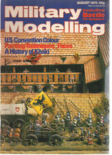 MILITARY MODELLING Magazine August 1979 (Great Britain)